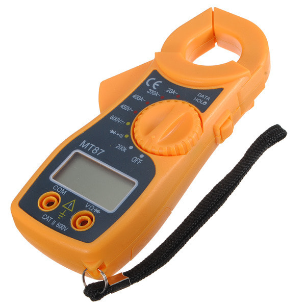 아재몰 해외직배송_멀티미터기_MT87 Digital Clamping Type Multimeter Electronic Tester AC/DC Meter