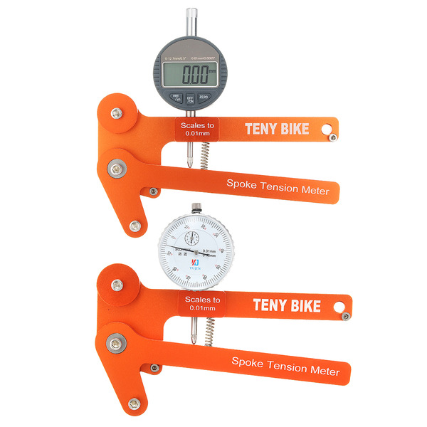 아재몰 자전거 정비공구 스포크텐션_BIKIGHT Spoke Tension Meter Tensiometer Bicycle Wheel Builders Tool Digital Scale
