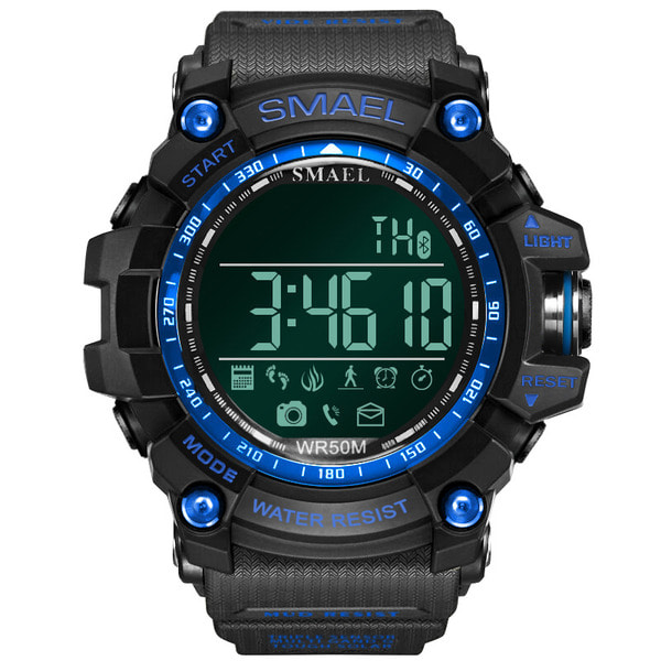 아재몰 스마트워치 블루투스 SMAEL LY01 Military Style bluetooth Watch Waterproof Male Sport Wrist Watch