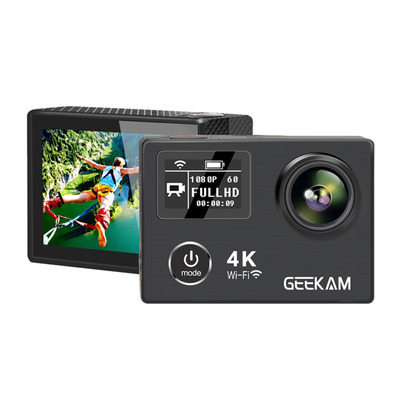 아재몰 해외직배송 디지털카메라_GEEKAM K8 Waterproof 1080p 60fps 4k Ultral HD Sport Action Camera