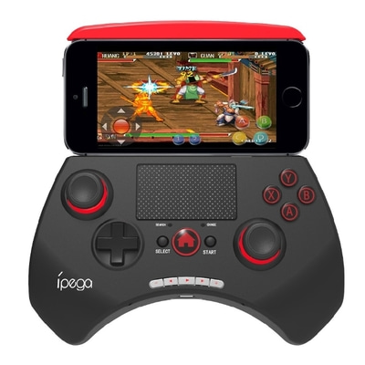아재몰 해외직배송 비디오게임 컨트롤러_IPEGA PG-9028 Portable Wireless Bluetooth Game Controller Gamepad Joystick With Touch Pad
