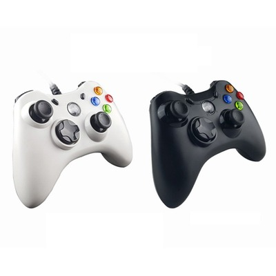 아재몰 해외직배송 비디오게임 컨트롤러_WELCOM WE-890S USB Wired Controller Gamepad LED Indicator Double Vibration Joystick Joypad