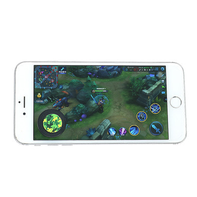 아재몰 해외직배송 비디오게임 컨트롤러_Touch Screen Mobile Game Plastic Joystick Controller for Moblile Phone Tablet
