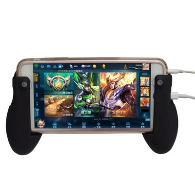 아재몰 해외직배송 비디오게임 컨트롤러_Mobile Phone Tablet Stand Holder Gamepad Grip for Touch Screen Game