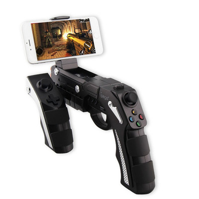 아재몰 해외직배송 비디오게임 컨트롤러_iPEGA PG-9057 Game Controller Gun Style Wireless Bluetooth Game Gamepad Joystick for Android iOS