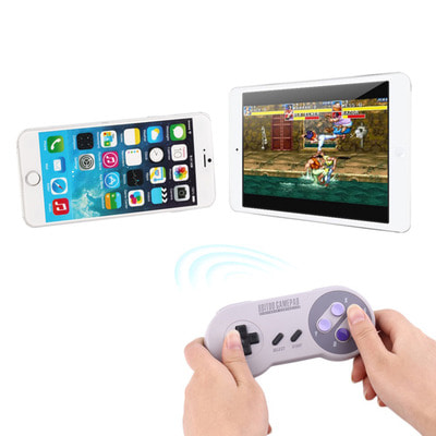 아재몰 해외직배송 비디오게임 컨트롤러_8Bitdo SNES30 Bluetooth Wireless Controller Gamepad For IOS Android