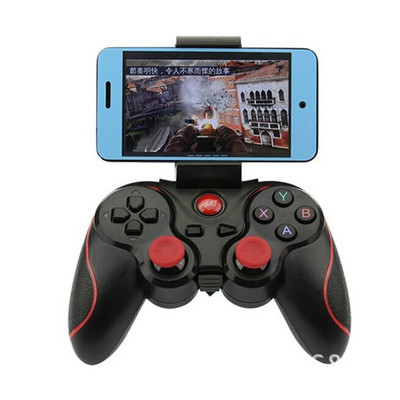 아재몰 해외직배송 비디오게임 컨트롤러_F300 Smartphone Game Controller Wireless Bluetooth Gamepad Joystick for Android Tablet PC TV BOX