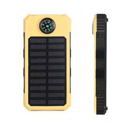 아재몰 해외 직배송 스마트폰 보조배터리 부품_DIY Solar with LED Indicator Compass Charging 20000mah Power Bank Battery Kit Box