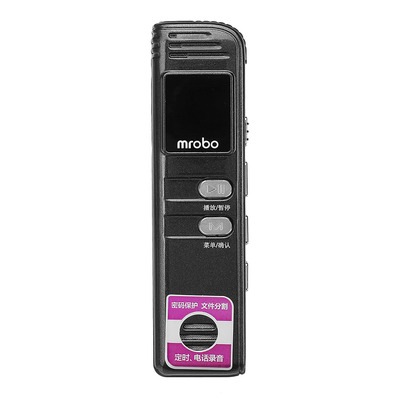 아재몰 해외직배송_녹음기_Mrobo M66 8GB HD Lossless Voice Control Voice Recorder Pen