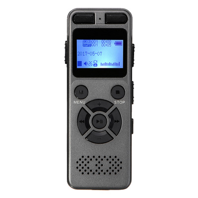 아재몰 해외직배송_녹음기_8GB Rechargeable LCD Digital Audio Sound A to B Repeat Voice Recorder Dictaphone