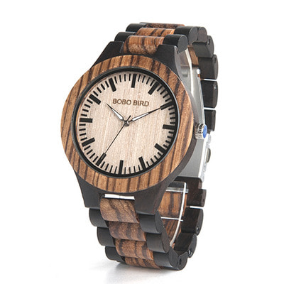 아재몰 디자인 손목시계_BOBO BIRD N28N30 Classic Full Wood Wrist Watch Wood Strap Quartz Couple Watch