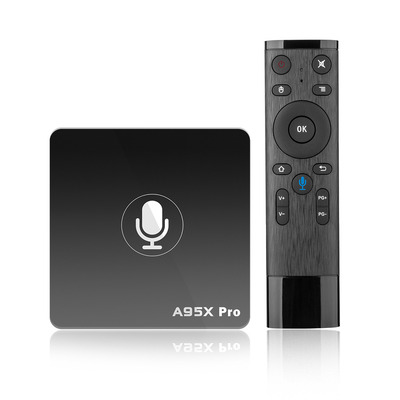 아재몰 해외직배송_셋톱박스_A95X Pro Amlogic S905W 2GB RAM 16GB ROM Android TV Box with Voice Control