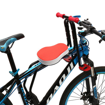 아재몰 자전거안장_BIKIGHT Safety Stable Baby Kid Bicycle Front Seat Cycling Front Tube Children Bike Saddle Chair Seat