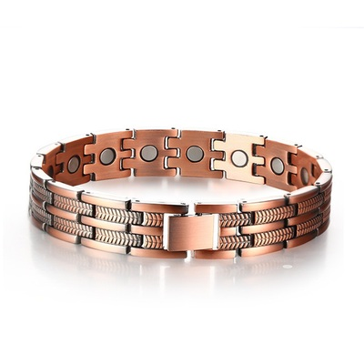 아재몰 아재 목걸이_Adjustable Length Healthy Magnetic Bracelet Arthritic Pain Relief Carpal Tunnel Men Women