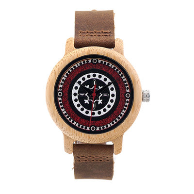 아재몰 디자인 손목시계_BOBO BIRD C-J19 Retro Style Wood Wrist Watches Leather Strap Ladies Watch