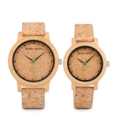 아재몰 디자인 손목시계_BOBO BIRD W*M11M12 Unique Design Watch Band Quartz Watches Lovers Bamboo Couple Watch