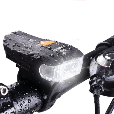 아재몰 자전거 헤드라이트 조명_XANES 600LM XPG + 2 LED Bicycle German Standard Smart Sensor Warning Light Bike Front Light Headlight