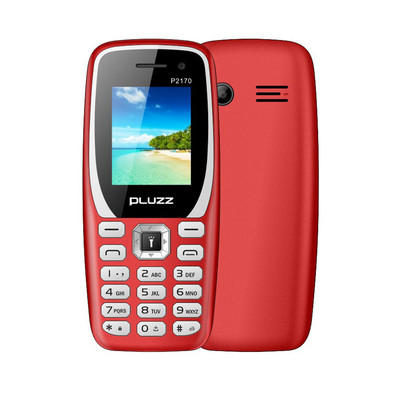 아재몰 해외직배송_피쳐폰_PLUZZ P2170 1.77 800mAh FM Radio With LED Flashlight Big Speaker Dual SIM Card Feature Phone