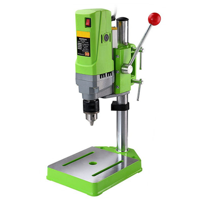 아재몰 해외직배송_전동공구_드릴_MINIQ BG-5156E Bench Drill Stand 710W Mini Electric Bench Drilling Machine Drill Chuck 1-13mm