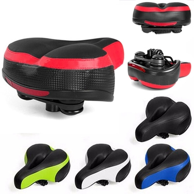 아재몰 자전거안장_Wide Big Bum Road MTB Bike Saddle Bike Bicycle Seat Cushion Shockproof And Reflector