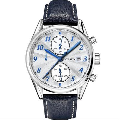 아재몰 디자인 손목시계_OCHSTIN GQ038B  Fashion Men Quartz Watch Elegant Leather Strap Business Watch