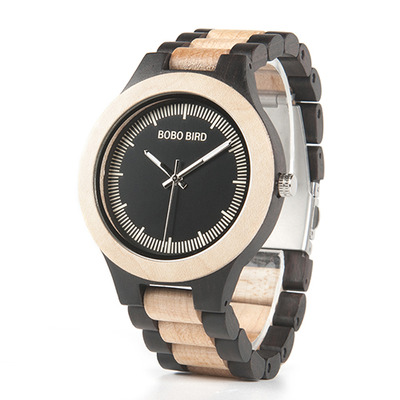 아재몰 디자인 손목시계_BOBO BIRD L*O01O02 Casual Style Wood Creative Watches Bamboo Strap Unisex Quartz Watch