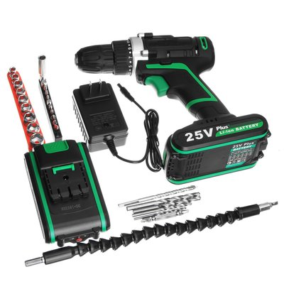 아재몰 해외직배송_전동공구_드릴_25V Multi-function Electric Screwdrivers Rechargeable Cordless Power Drilling Tools Power Screwdrive