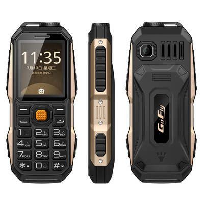 아재몰 해외직배송_피쳐폰_GOFLY S7000 2.0 Inch 3800mAh OTG Flashlight FM MP3 Power Bank Dual SIM Outdooors Mini Feature Phone