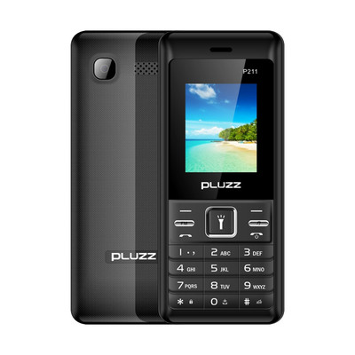 아재몰 해외직배송_피쳐폰_PLUZZ P211 1.77 3000mAh FM Radio Flashlight Big Speaker Dual SIM Card Long Standby Feature Phone