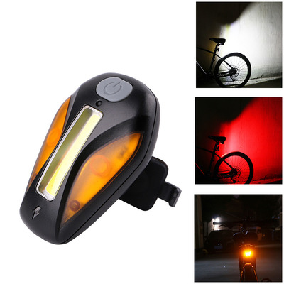 아재몰 자전거 후미등 조명_WHEEL UP Bicycle Taillight USB Charge 3 Light Color 5 Flash Mode Bike Light Outdoor Sports Hikin