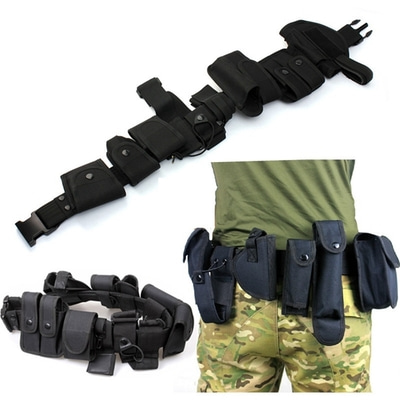 아재몰 해외직배송_밀리터리_벨트_10 in 1 Sports Tactical Belt Racing Hiking Military Outdoor Games 800D Nylon belts