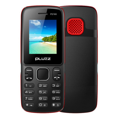 아재몰 해외직배송_피쳐폰_PLUZZ P2160 1.77 800mAh FM Radio MP3 With LED Flashlight Dual SIM Card Feature Phone