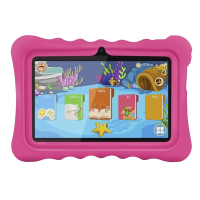 아재몰 해외직배송_태블릿_안드로이드_Ainol Q88 RK3126C 1.3GHz 1GB RAM 16GB Android 7.1 OS Kid Tablet-Pink