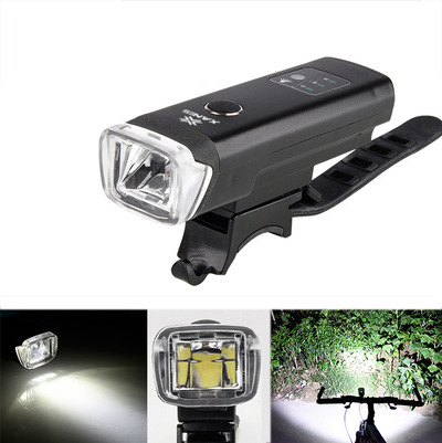 아재몰 자전거 헤드라이트 조명_XANES SFL03 600LM XPGLED German Standard Smart Induction Bicycle Light IPX4 USB Rechargeable Large F