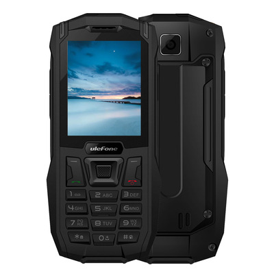 아재몰 해외직배송_피처폰_Ulefone Armor Mini 2.4 IP68 2500mAh Power Bank Bluetooth Dual SIM Card Waterproof Feature Phone