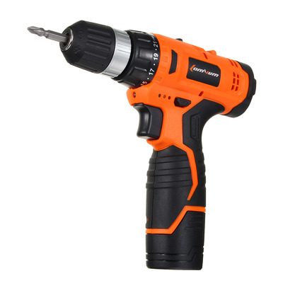아재몰 해외직배송_전동공구_드라이버_Lomvum 12V Electric Drill Power Drill Two Speed Electric Screwdriver Tool With Bits Set