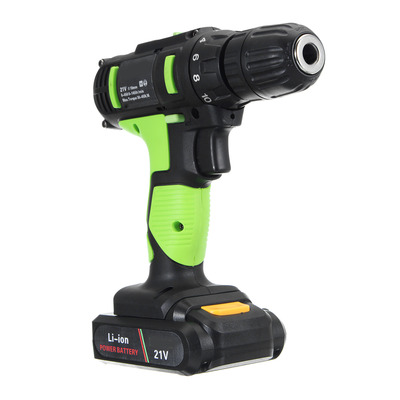 아재몰 해외직배송_전동공구_드라이버_21V Li-ion Electric Screwdriver Rechargeable Electric Charging Power Drill Two Speed 30-45Nm