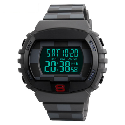 아재몰 디지털 손목시계_SKMEI 1304 Men Digital Watch Chronograph Calendar Luminous Display Multifunctional Sport Watch