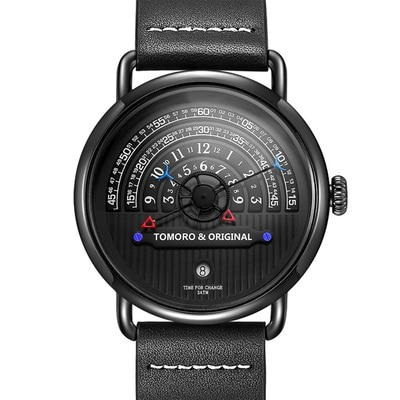아재몰 디자인 손목시계_TOMORO Fashion Creative Tactical Unique Hour Reading Designer Men Watch Casual Male Quartz Watch