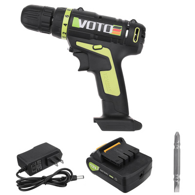 아재몰 해외직배송_전동공구_드라이버_VOTO AC100-240V DC12V Cordless Rechargeable  Electric Screwdriver Li-ion Battery Power Scew Driver