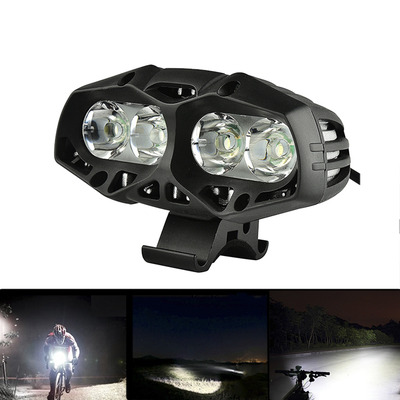 아재몰 자전거 헤드라이트 조명_XANES ML01 Waterproof Bike Front Light 4* T6 4 Modes Multipurpose Outdoor Sports Headlight