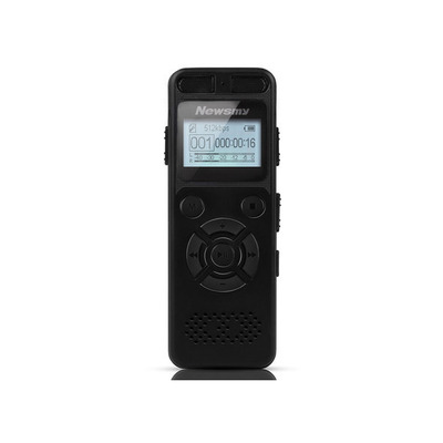 아재몰 해외직배송_녹음기_Newsmy RV29 8GB 1536KBPS PCM Dual Microphone 138 Hour A to B Repeat Voice Recorder