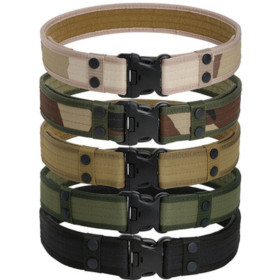 아재몰 해외직배송_밀리터리_벨트_130CM Mens Military Durable Canvas Belt Army Outdoor Tactical Combat Belt