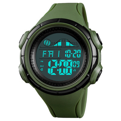 아재몰 디지털 손목시계_SKMEI 1379 Multifunction Luminous Display Watch Men Stopwatch Countdown Alarm Calendar Digital Watch