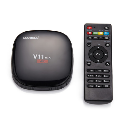 아재몰 해외직배송_셋톱박스_Coowell V11 Mini RK3229 1GB RAM 8GB ROM TV Box