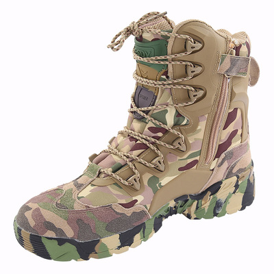 아재몰 해외직배송_밀리터리_군화_ESDY Men Tactical Winter Army Boots Desert Shoes Outdoor Hiking Leather Military Combat Male