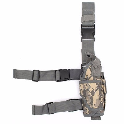 아재몰 해외직배송_밀리터리_가방_Waterproof Outdoor Hunting Military Tactical Puttee Thigh Leg Gun Holster Pouch