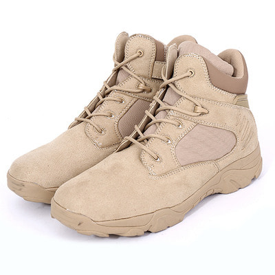 아재몰 해외직배송_밀리터리_군화_Men Comfortable Wear Resistant Outsole Warm High Top Military Style Boots