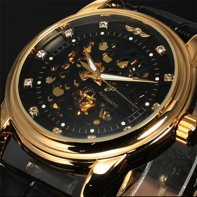 아재몰 기계식 손목시계_Casual Style Automatic Mechanical Watch Full Steel Luxury Men Wrist Watches