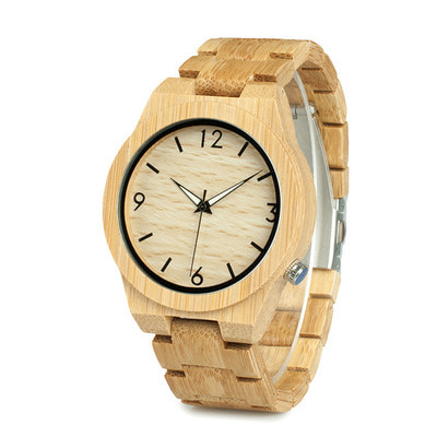 아재몰 디자인 손목시계_BOBO BIRD WD27 Bamboo Wooden Watch Unique Design Men Quartz Wrist Watch